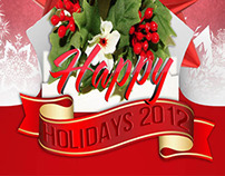 Holidays 2012 Poster Flyers