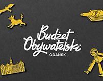 The CIVIC BUDGET Gdańsk / rebranding & campaign