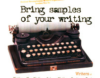 Central PA Writers Organization Flyer