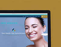 Calmal Dental - Website