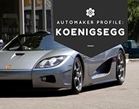 Automaker Profile: Swedish Car Maker Koenigsegg