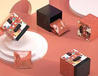 《哈狄 - 花茶》花茶系列包装 三角包茶叶 茶叶包装