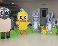 Easter Standees
