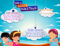 Life Biggest Questions - Kid Lesson Flyers