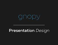 Gnopy // Presentation Design Berk Boz's Startup