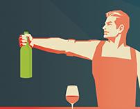 Shelter Cocktail Bar - Spring/Summer Menu V Design