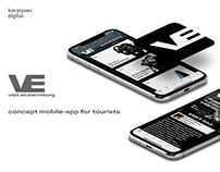 visit ekaterinburg - concept mobile-app for tourists
