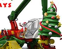 Santa Harvester