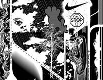 Nike 2020 Space Run Poster