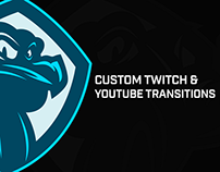 CUSTOM TWITCH/YOUTUBE TRANSITIONS
