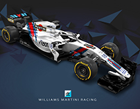 2018 Williams Martini Racing Concept Liveries.