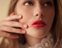 Lèvre rouge/ red lips