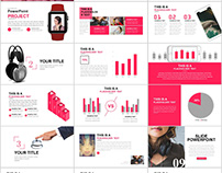 33+ red style Swot report PowerPoint template