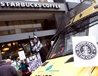 Protest groups target Starbucks, Liverpool over tax