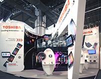 Toshiba - Mobile World Congress, Barcelona