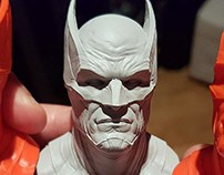 Batman print printed by Junction3D