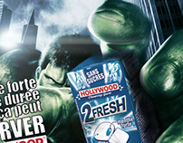 Hollywood Chewing gum 2fresh