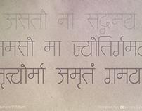 Satt - Devnagri Typeface