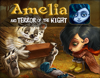 Amelia and Teror of the Night - interactive book