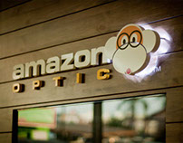 Amazon Optical - Interior & Branding Design
