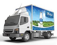 Lorry Branding Mock Up - Photorealistic Mock Up