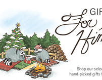 NYBG Holiday Gift Guide Illustrations!