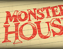 Monster House Title Design