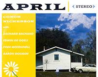 April - Album Cover Design