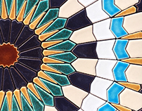 Le Souk Beirut Ceramic tiles for a restaurant.