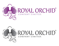 Royal Orchid Logo Creation