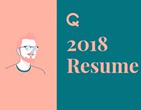 My 2018 CV