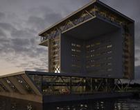 3D Architectural Visual | Bouwhuis Zoetermeer