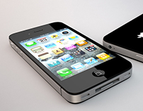 3D iPhone model | Product render