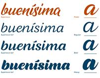 Supernova Typeface