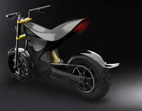 Peregrinus Electric Motorcycle