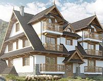 Budynek domu jednorodzinnego - WILLA JURGÓW