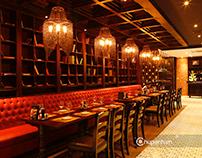 Chụp ảnh không gian nhà hàng Moo Beef Steak Nguyễn Thị