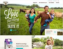 Organic Valley Website Redesign