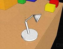 Animacja 3D - LAMPKA
