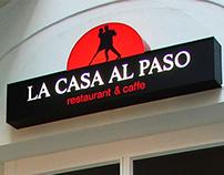 LA CASA AL PASO - logo