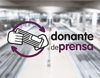 "RENFE: ""Press donors"""