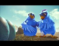 Beldent, Birds