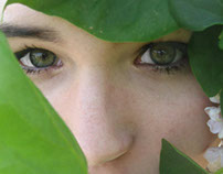 eyes as green as leaves