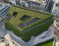 Kö-Bogen II: Europe's largest Green Facade