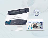 Création site internet : Docteur Teppaz, Website design