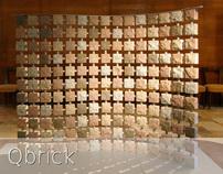 Qbrick modular wall