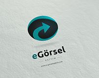 E Görsel Eğitimim - Logo Design