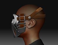 3D - Ski mask assembly