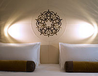 Shaza Hotel Headboard Design