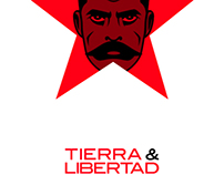 TIERRA & LIBERTAD-poster
